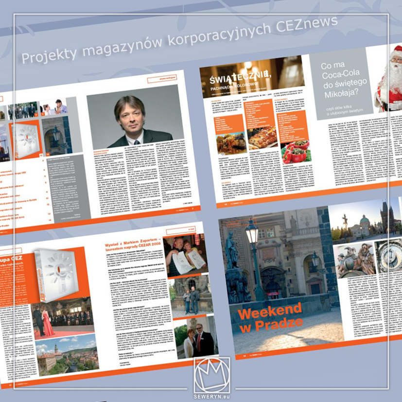 Projekty magazynów korporacyjnych dla CEZ
